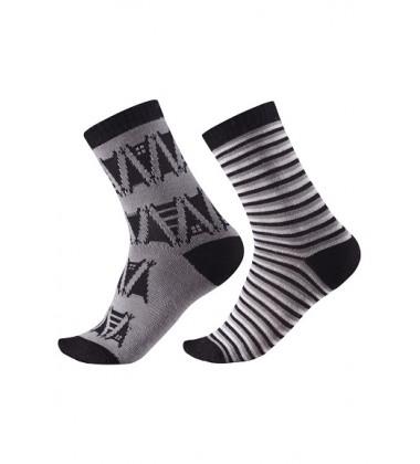 Reima kojinės Strum. Spalva juoda / pilka