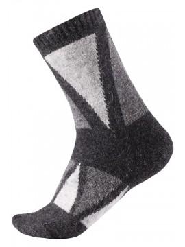 Reima vilnonės kojinės Savo. Spalva juoda / pilka