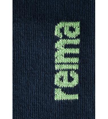 Reima kojinės Path. Spalva žalia / tamsiai mėlyna