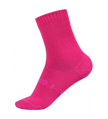 Reima kojinės WARMWOOLMIX. Spalva rožinė