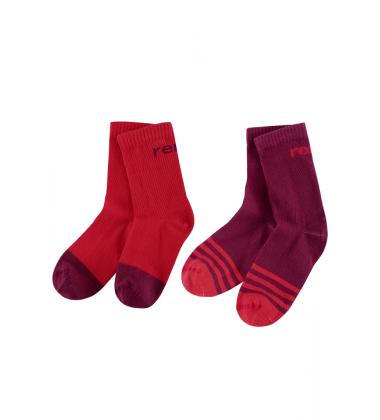 Reima kojinės My Day. Spalva raudona