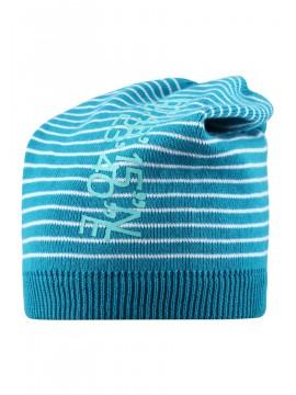 Reima pavasario kepurė SCORIA. Spalva šviesiai mėlyna su dryžiukais