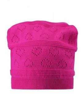 Reima rudens / pavasario kepurė PUMICE. Spalva ryškiai rožinė