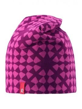 Reima pavasario kepurė Trappa. Spalva rožinė / violetinė