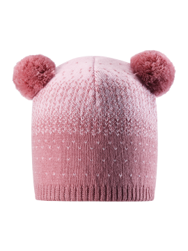Reima žiemos kepurytė Saana. Spalva šviesiai rožinė