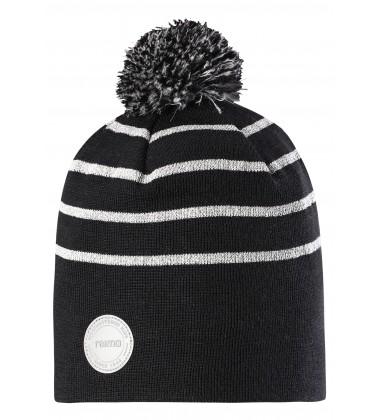 Reima kepurė YOHO. Spalva pilka / juoda