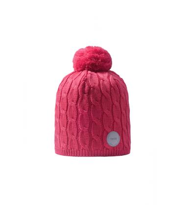 Reima žiemos kepurė Nyksund. Spalva ryškiai rožinė