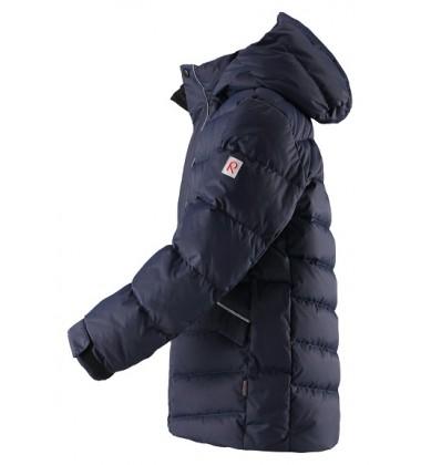 Reima pukinė žiemos striukė Janne. Spalva tamsiai mėlyna