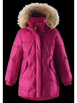 Reima pūkinis paltas Sula. Spalva ryškiai rožinė - užsakoma prekė