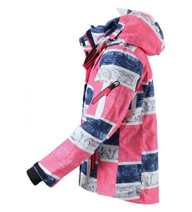 Reimatec®  žiemos striukė Frost. Spalva rožinė / pilka / mėlyna - užsakoma prekė