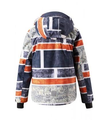 Reimatec®  žiemos striukė Wheeler. Spalva pilka/ oranžinė užsakoma prekė