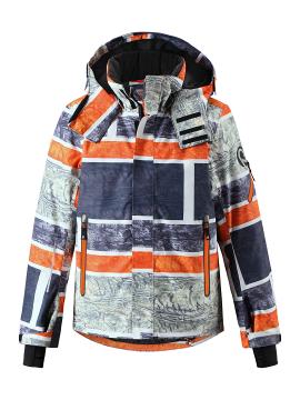 Reimatec®  žiemos striukė Wheeler. Spalva pilka/ oranžinė -  užsakoma prekė