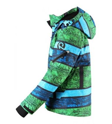 Reimatec®  žiemos striukė Wheeler. Spalva žalia /mėlyna - užsakoma prekė