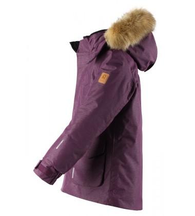 Reimatec® pūkinė žiemos striukė Ugra. Spalva bordinė