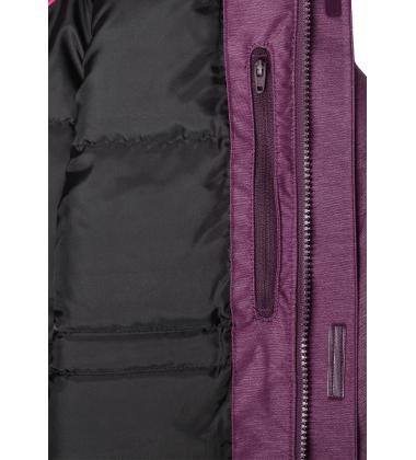 Reimatec pūkinė žiemos striukė Ugra. Spalva violetinė