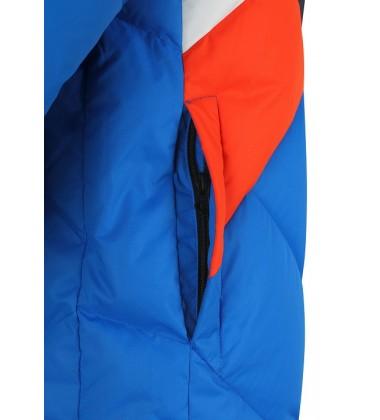 Reima pūkinė žiemos striukė Ahmo. Spalva mėlyna / oranžinė