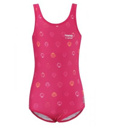 Reima maudymosi kostiumėlis SUMATRA. Spalva rožine su kriauklėmis