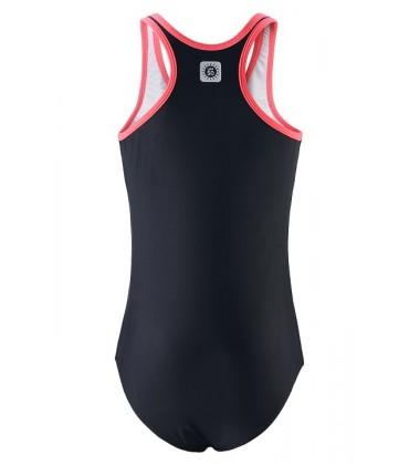 Reima maudymosi kostiumėlis Vanuato. Spalva juoda / rožinė