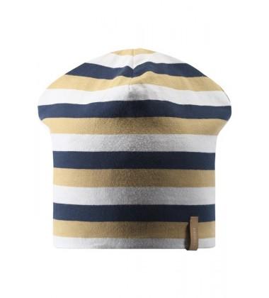 Reima pavasario kepurė Tanssi. Spalva mėlyna / balta / geltona/  tamsiai mėlyna