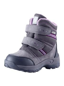 Reimatec® sniego batai VISBY. Spalva pilka su rožinėmis detalėmis