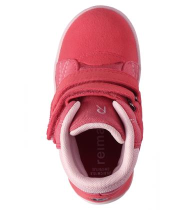 Reimatec demisezoniniai batai Patter. Spalva blyškiai raudona