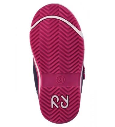 Reimatec® demisezoniniai batai PATTER. Spalva pilka / rožinė