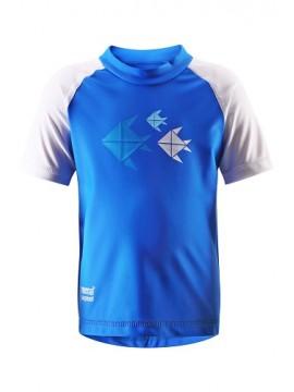 Reima marškinėliai AZORES. Spalva mėlyna