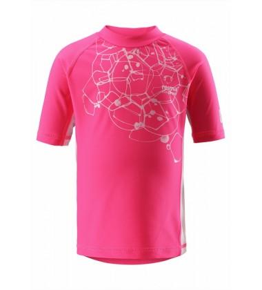 Reima marškinėliai su UV  filtrais CRETE . Spalva rožinė