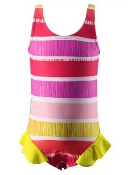 Reima maudymosi kostiumėlis CORFU. Spalva rožinė dryžuota