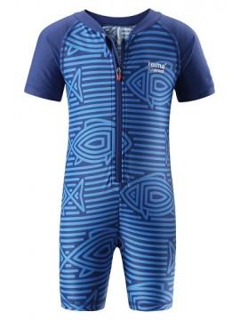 Reima maudymosi kostiumėlis ODESSA. Spalva mėlyna su dryžiukais