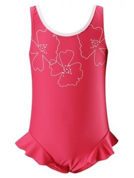 Reima maudymosi kostiumėlis CORFU. Spalva rožinė