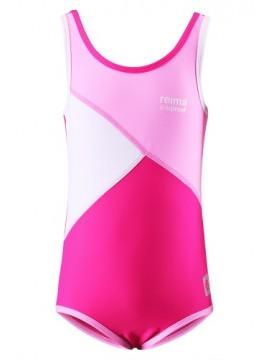 Reima maudymosi kostiumėlis SUMATRA. Spalva baltai rožinė