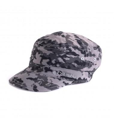 Columbia vasaros kepurė Silver Ridge. Spalva juoda / pilka