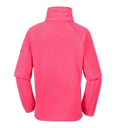 Columbia flisinis džemperis FAST TREK II 2017 / 2018. Spalva rožinė su violetiniu