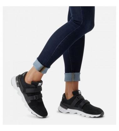 Sorel moteriški laisvalaikio batai KINETIC LITE STRAP. Spalva juoda