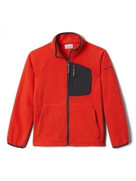 Columbia flisinis džemperis FAST TREK III Fleece Full Zip. Spalva oranžinė