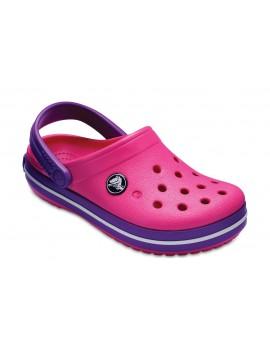 Crocs Crocband Clog klumpės. Spalva rožinė / violetinė