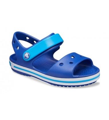 Crocs Crocband Sandal basutės. Spalva mėlyna / šviesiai mėlyna