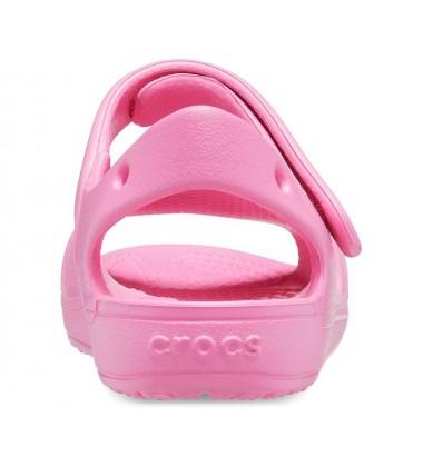 Crocs Classic Strap Charm Sandal basutės. Spalva rožinė