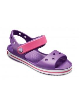 Crocs Crocband Sandal basutės. Spalva violetinė / rožinė