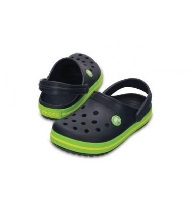 Crocs Crocband Clog klumpės. Spalva tamsiai mėlyna / žalia