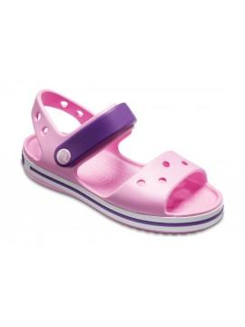 Crocs Crocband Sandal basutės. Spalva šviesiai rožinė / violetinė