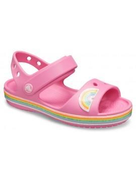Crocs Crocband Sandal basutės. Spalva šviesiai rožinė