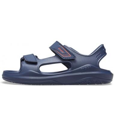 Crocs Crocband Sandal basutės. Spalva tamsiai mėlyna
