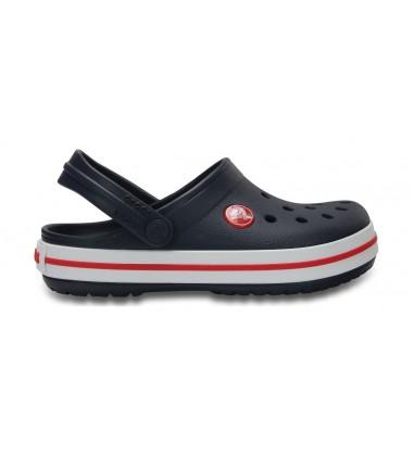 Crocs Crocband Clog klumpės. Spalva tamsiai mėlyna / raudona