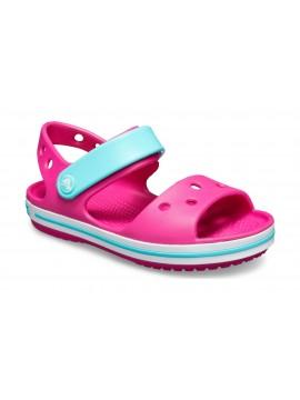 Crocs Crocband Sandal basutės. Spalva rožinė / žydra