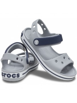 Crocs Crocband Sandal basutės. Spalva pilka / juoda