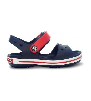 Crocs Crocband Sandal basutės. Spalva tamsiai mėlyna / raudona