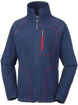 Columbia flisinis džemperis FAST TREK II 2017 / 2018. Spalva tamsiai mėlyna su raudonu