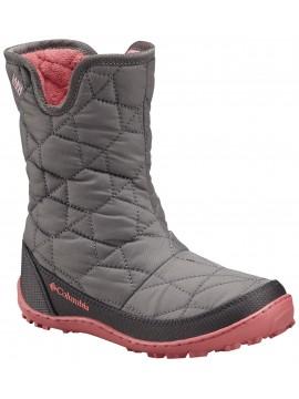 Columbia žiemos batai mergaitei MINX SLIP. Spalva pilka / rožinė